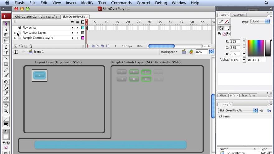 : Flash CS3 Interactive Video Techniques