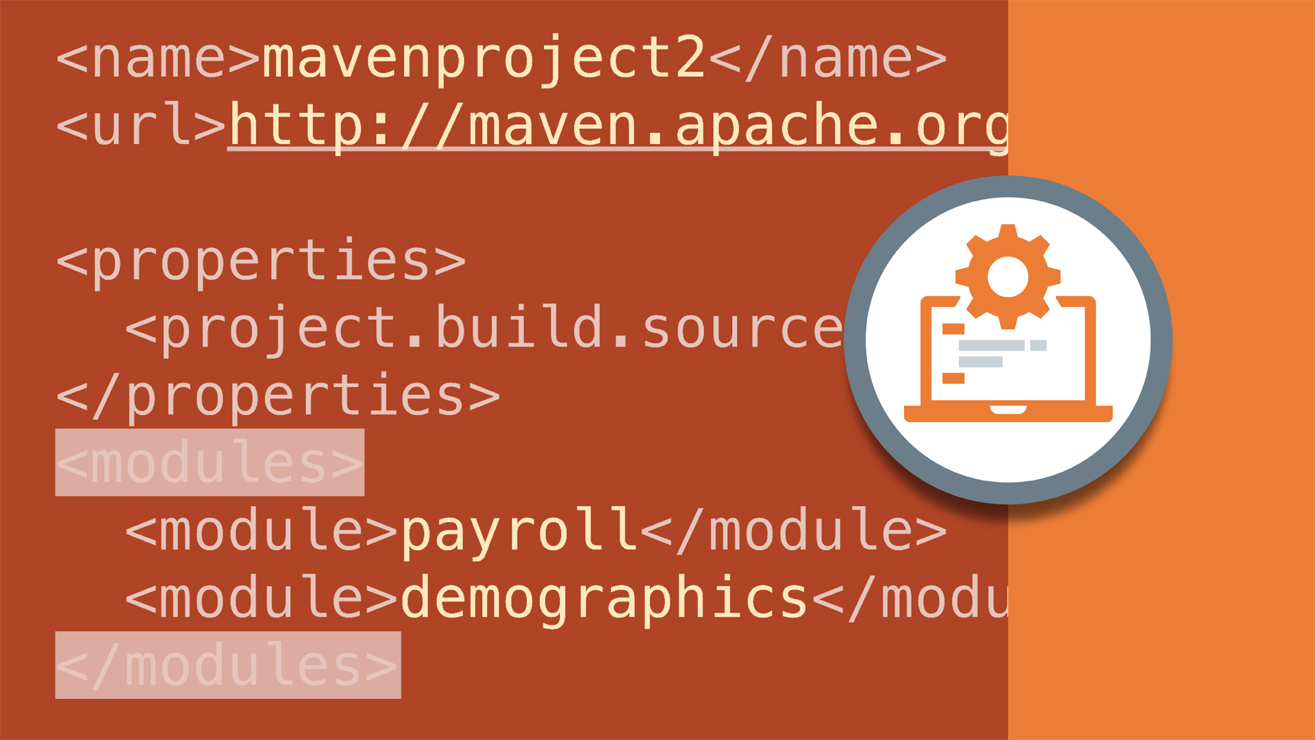 Welcome: Multi Module Build Automation with Maven