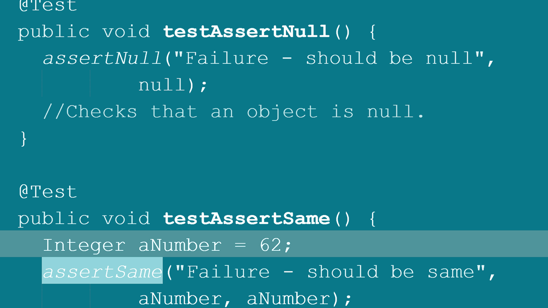 Welcome: Using JUnit for Testing in Java