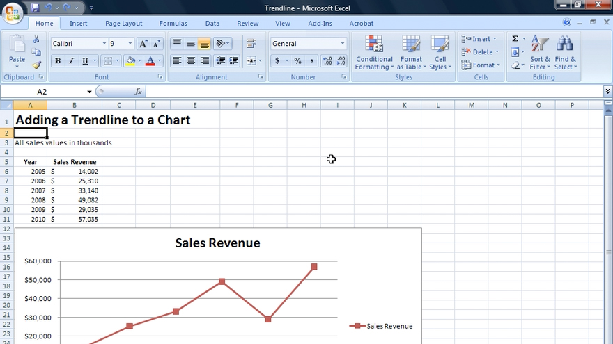 Welcome: Excel 2007: Financial Analysis