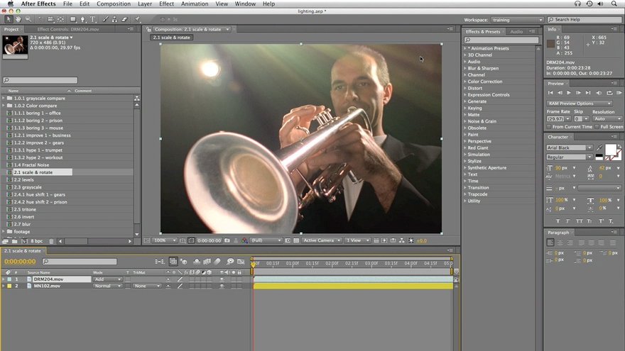 : After Effects: Lighting Effects in Post
