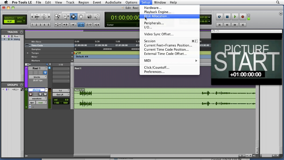 Welcome: Film Scoring with Pro Tools