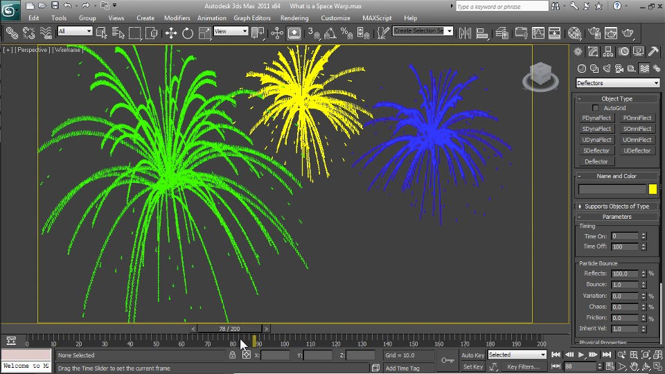 Welcome: Particle Effects in 3ds Max
