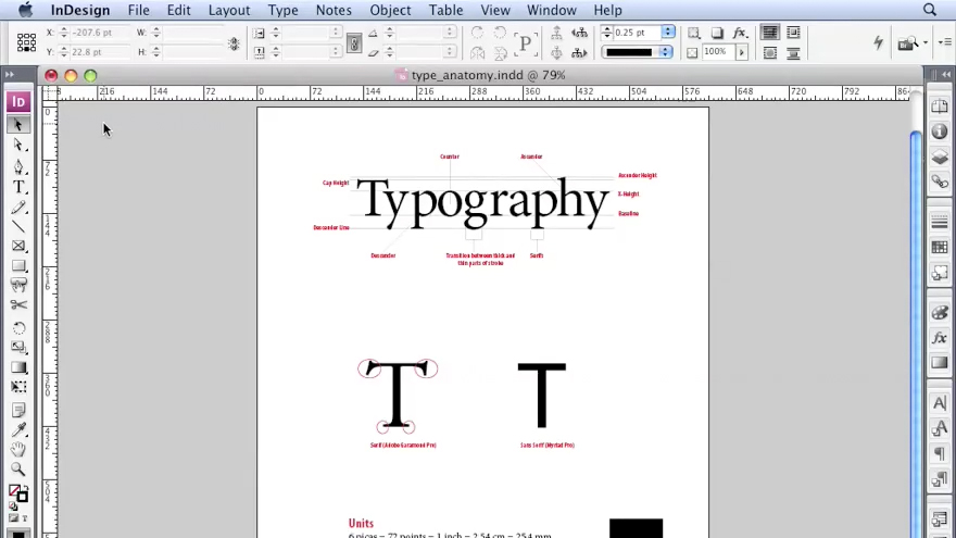 Understanding how to use this course: InDesign CS3 Professional Typography