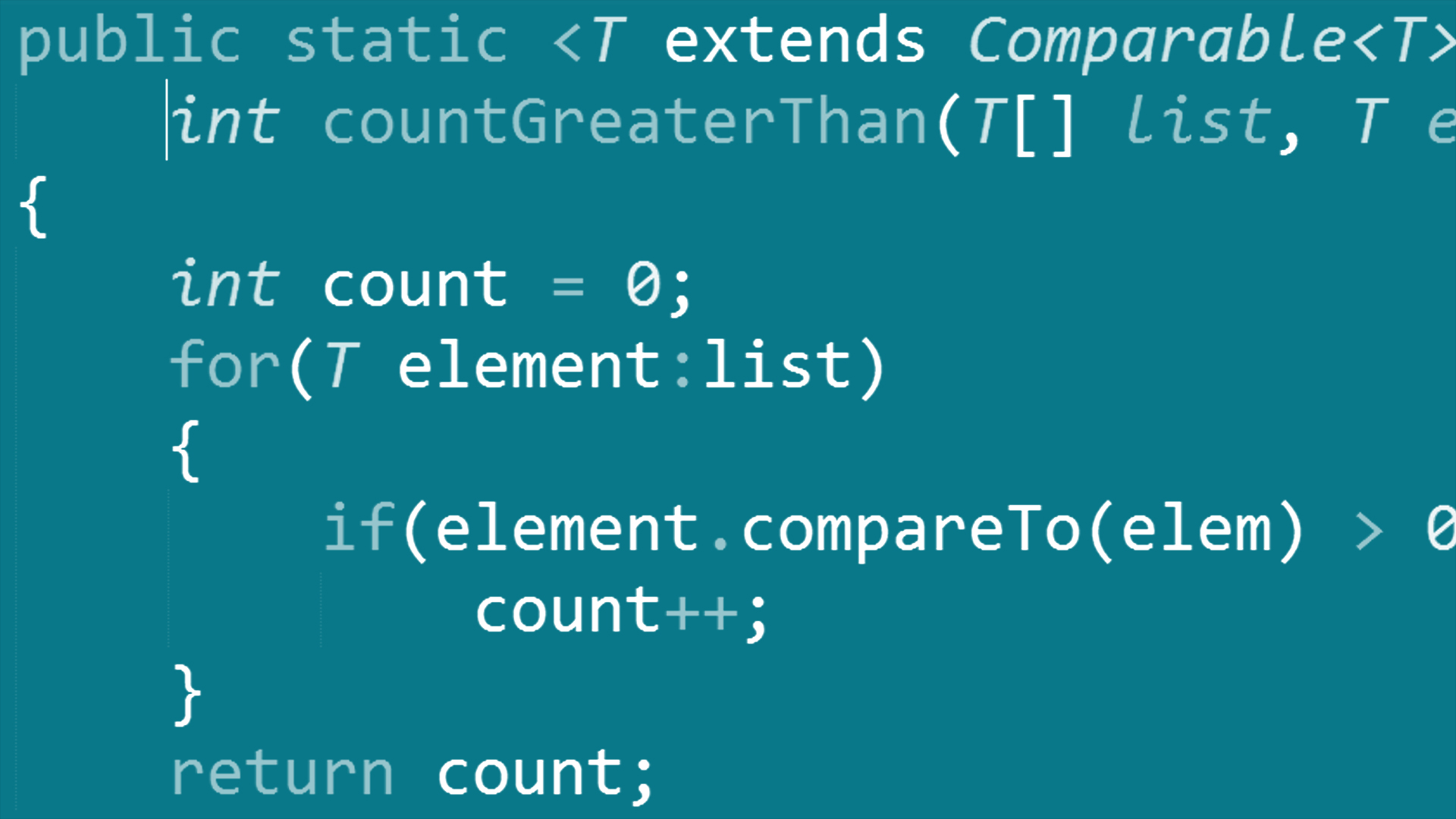Java Generic Classes