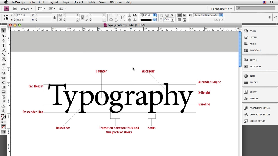 Welcome: InDesign CS4: Typography