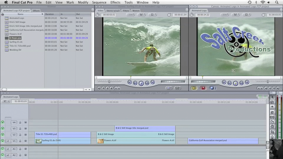 : Final Cut Pro 6 with Photoshop CS3 Integration