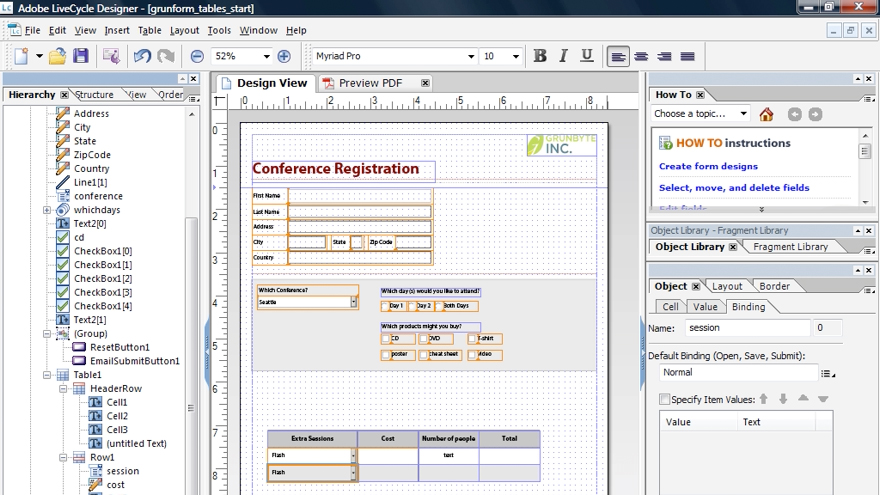 Welcome: Acrobat 9 Pro: Creating Forms