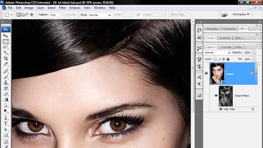 Why every image needs sharpening: Photoshop CS3 Sharpening Images