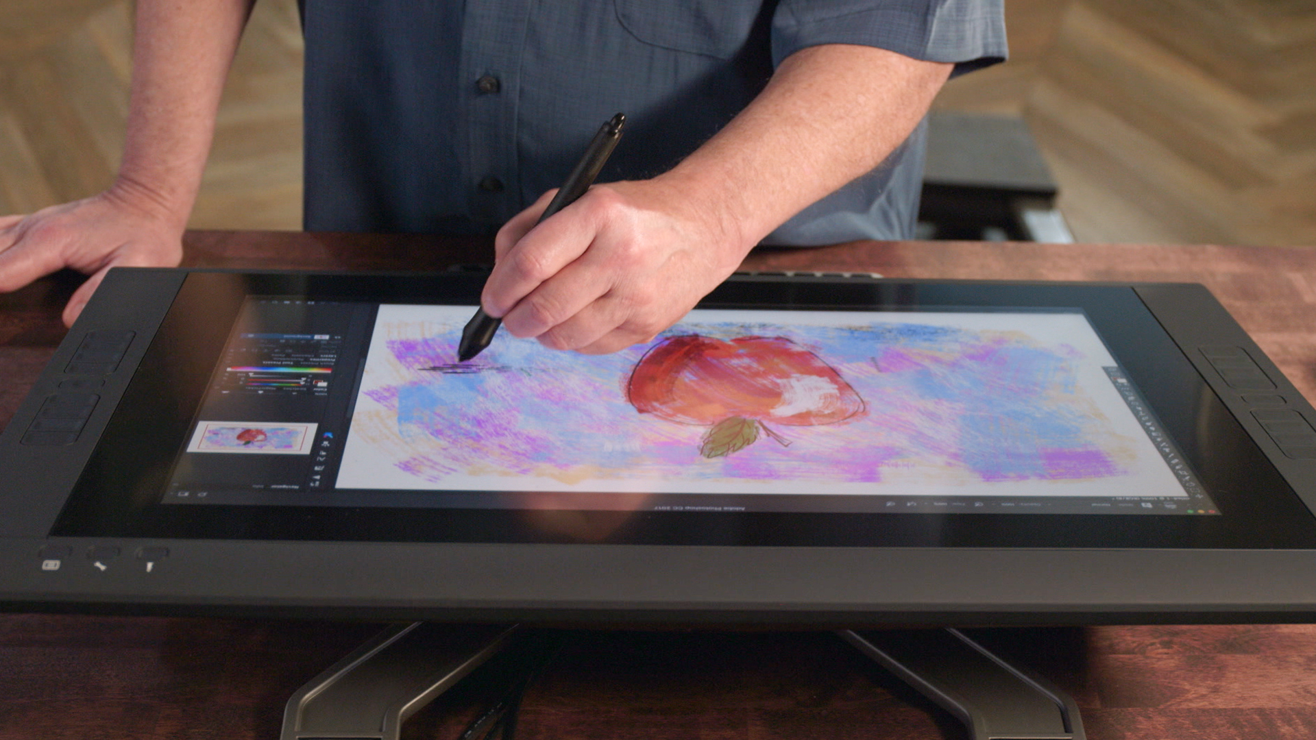 Setting up the Intuos Pro
