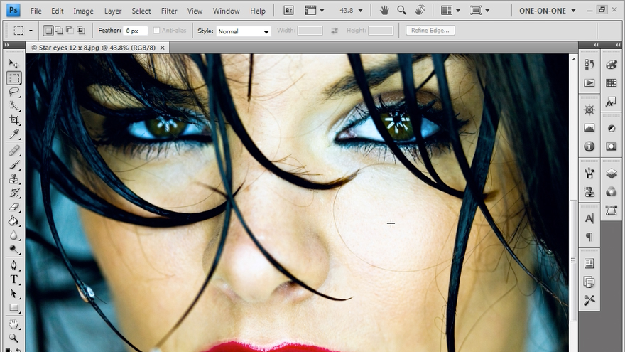 Welcome: Photoshop CS4: Sharpening Images New Features
