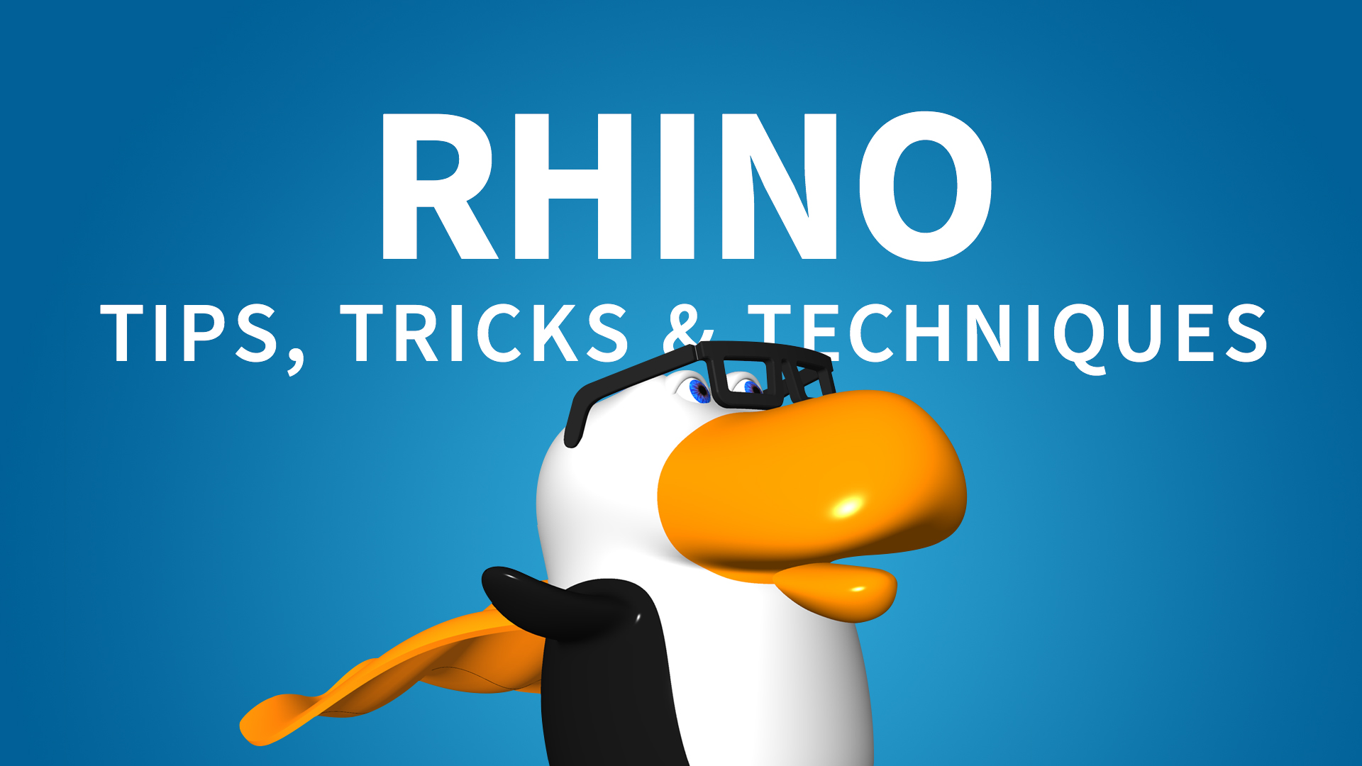Rhino: Tips, Tricks & Techniques