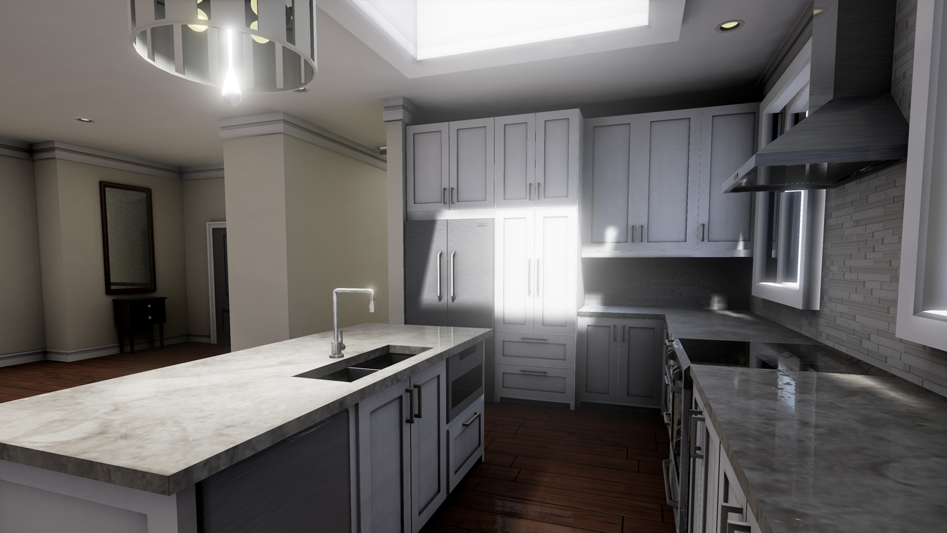 Rendering still images in UE4