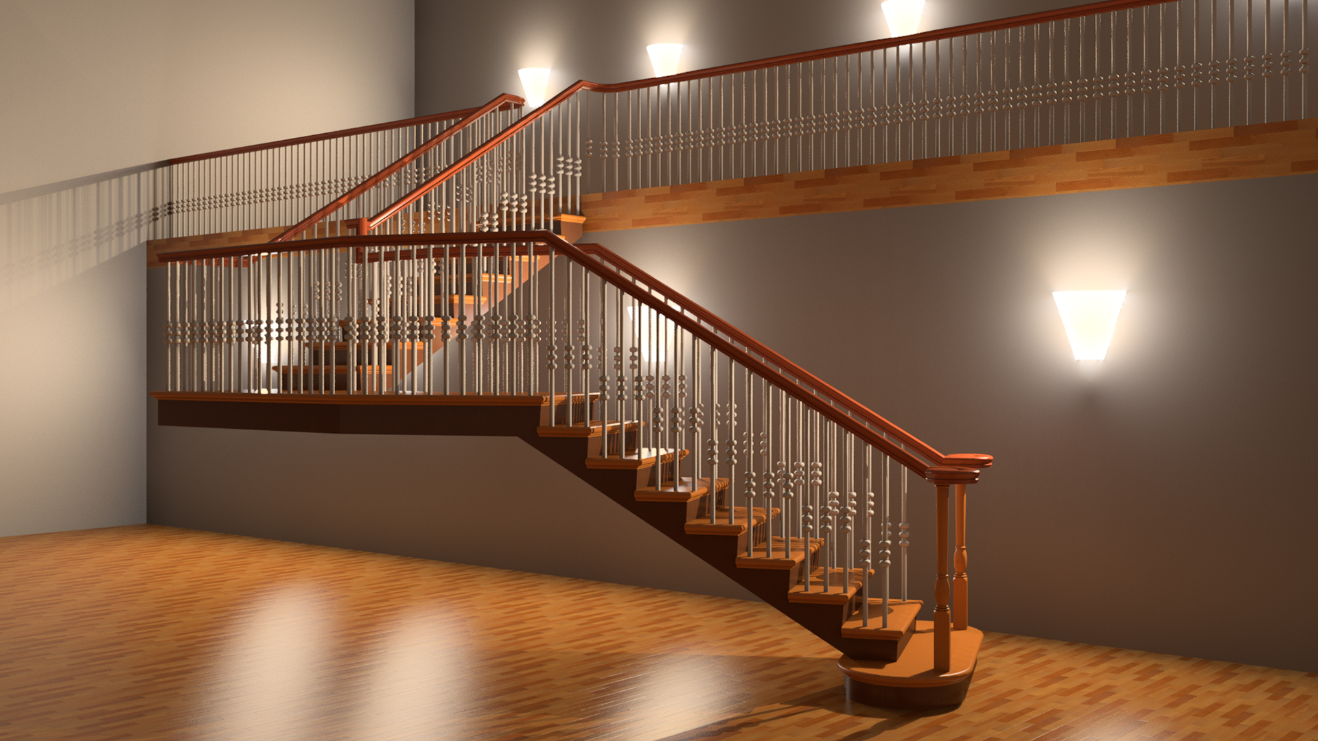 Types of stairs: design features, installation technology and reviews 77