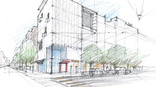 Definir La Perspective D Un Immeuble En Ville