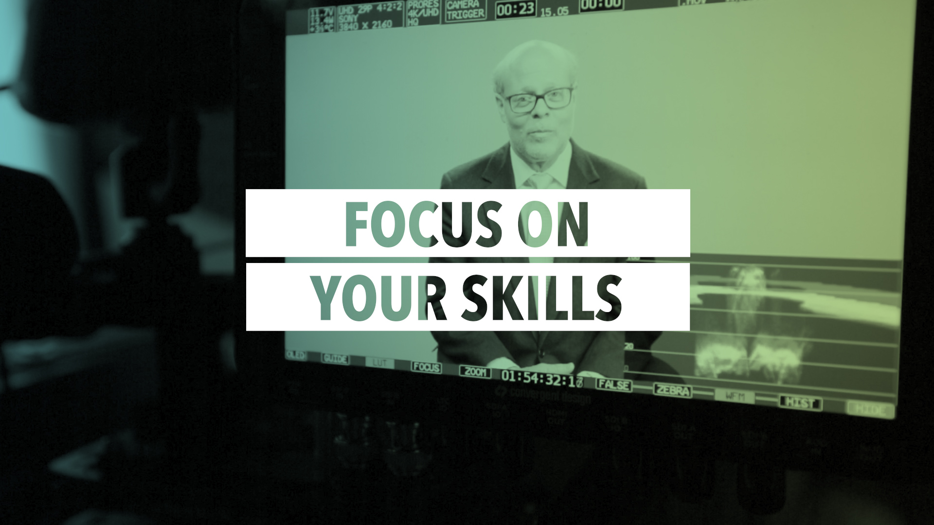 Focus on what you're good at: Focus on Your Skills