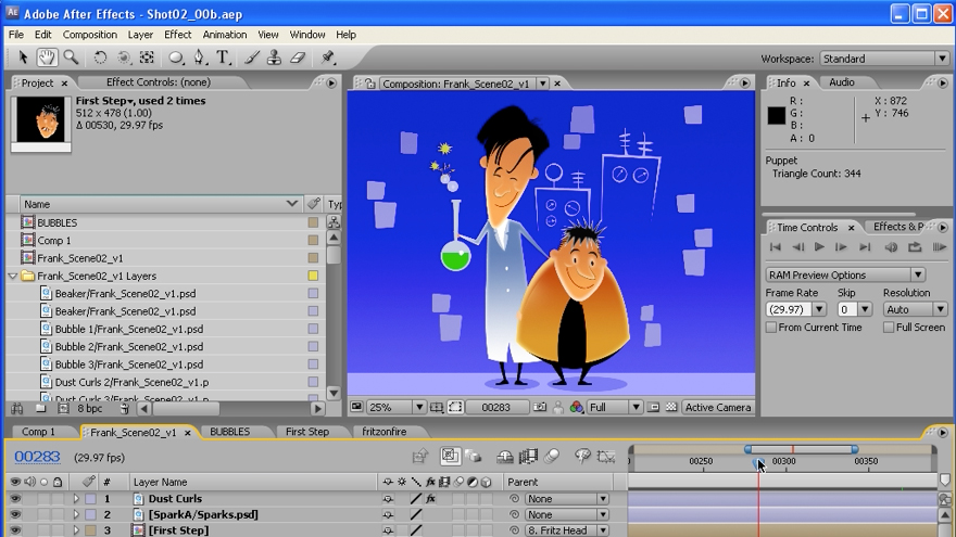 Welcome: After Effects CS3: Animating Characters