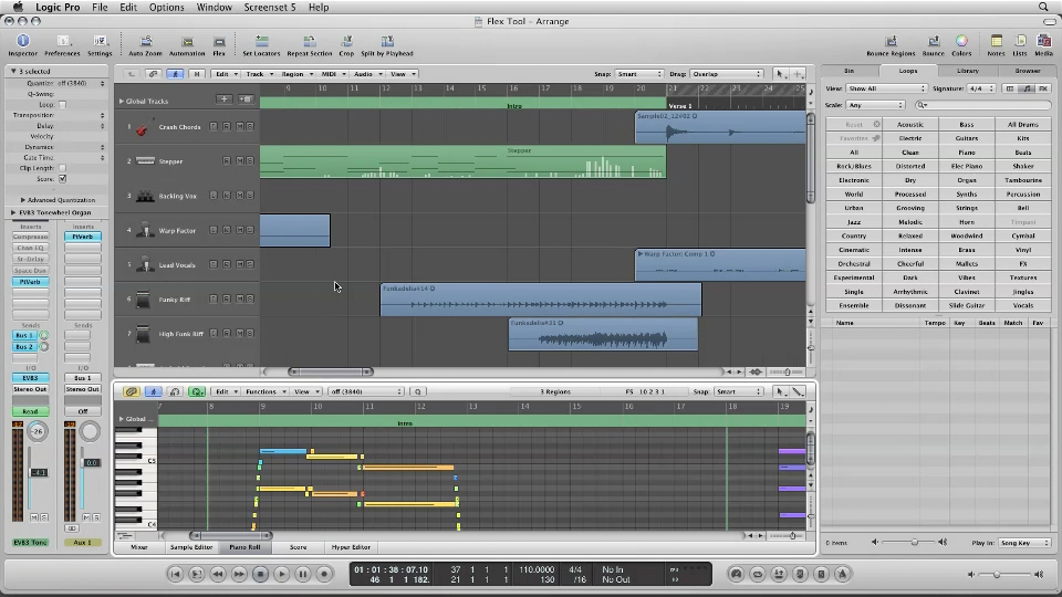 Welcome: Logic Pro 9 New Features