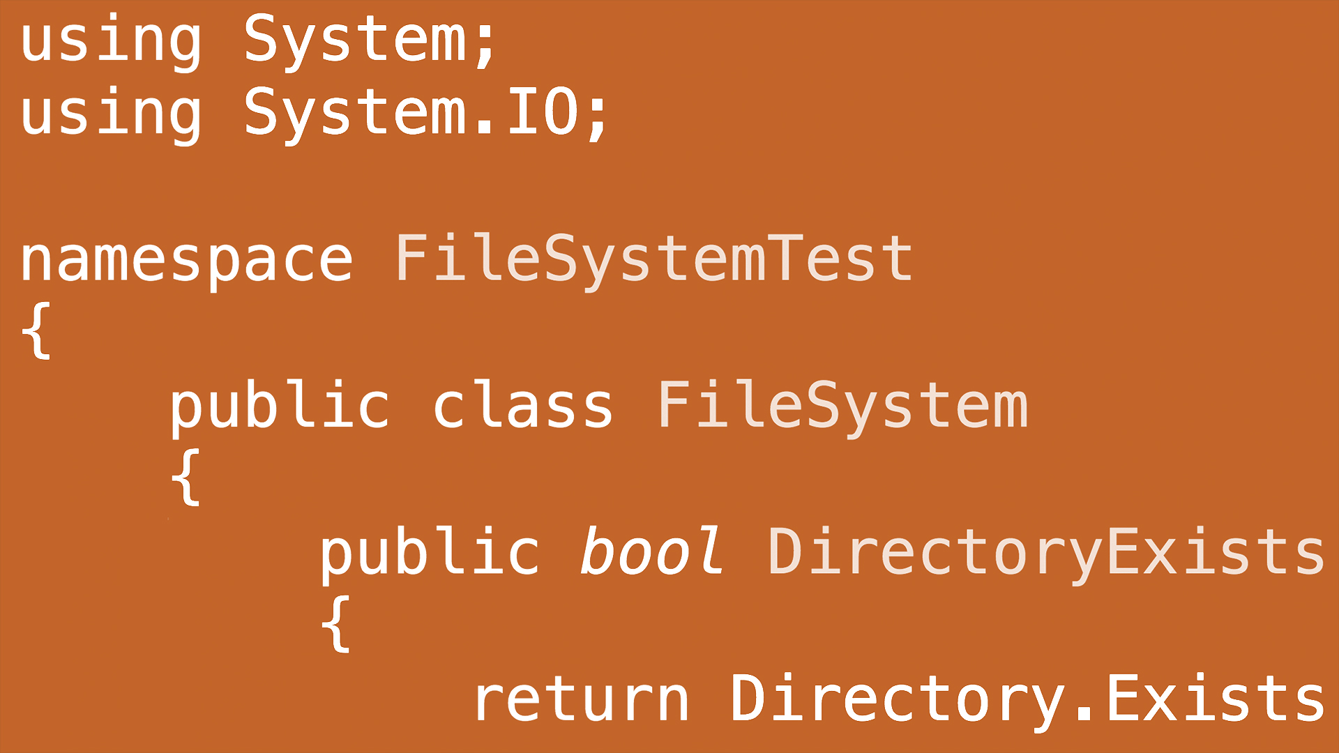 C# File System Tips and Tricks