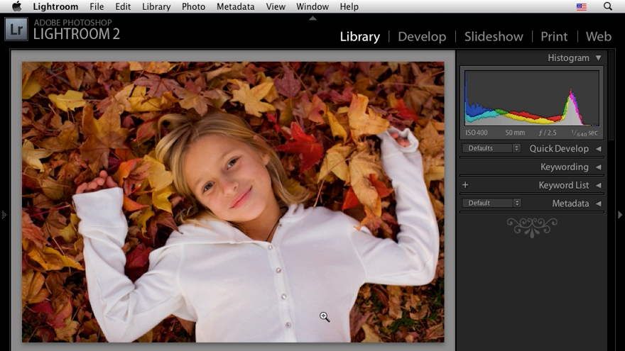 Welcome: Lightroom 2 New Features