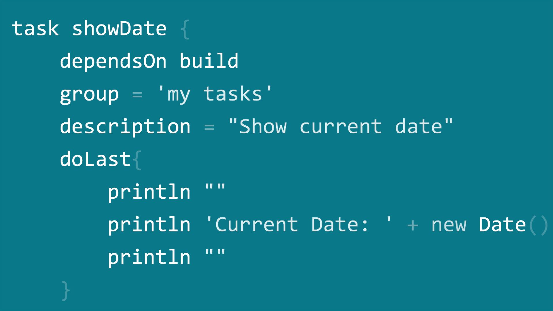 The Gradle build directory - Gradle for Java Developers