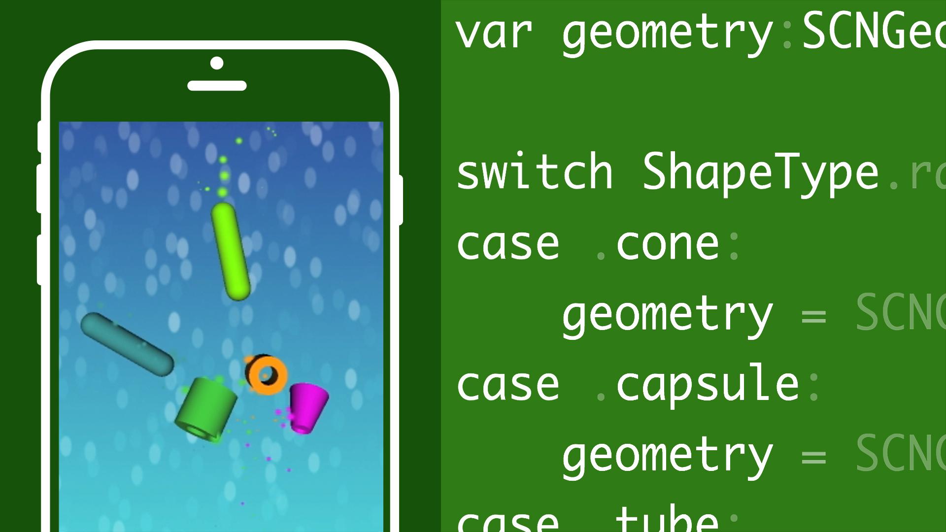 Building a 3D Game in SceneKit