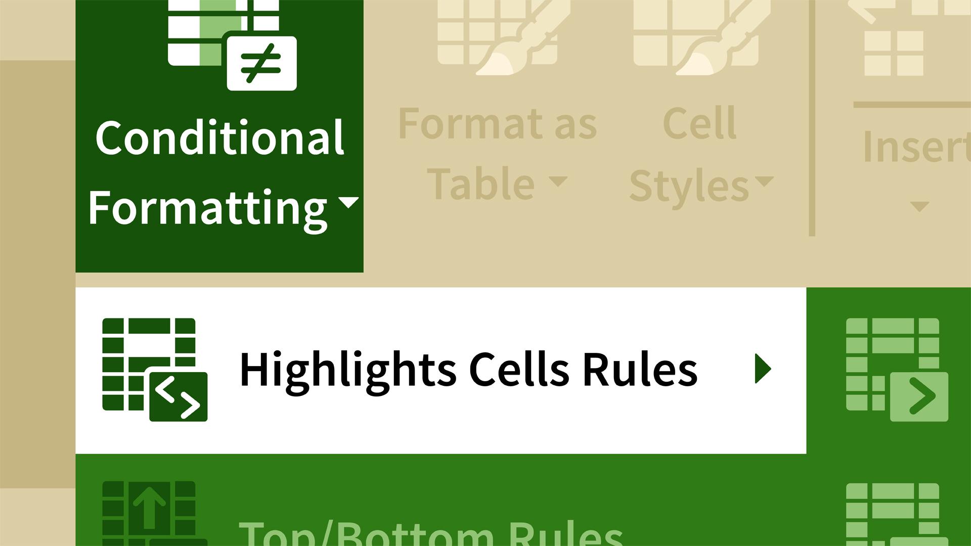 Excel 2016: Conditional Formatting in Depth