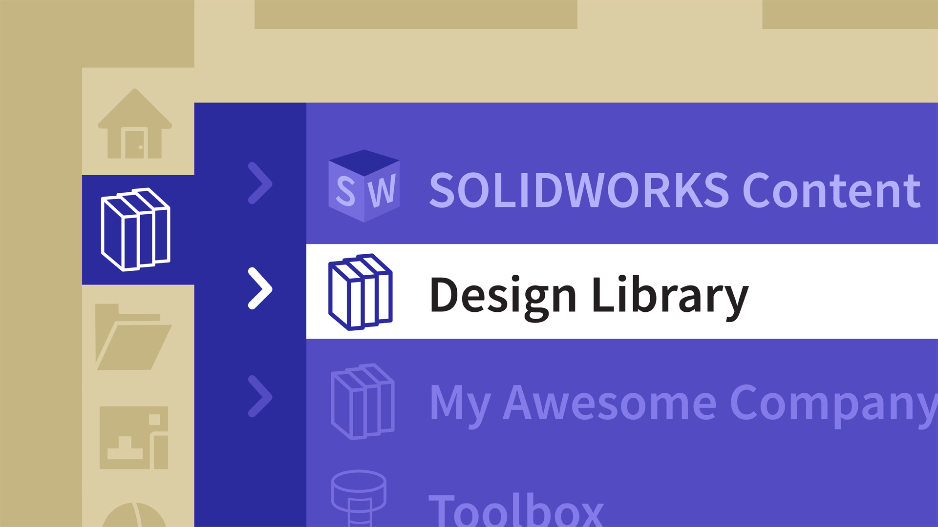 SOLIDWORKS: Managing the Design Library