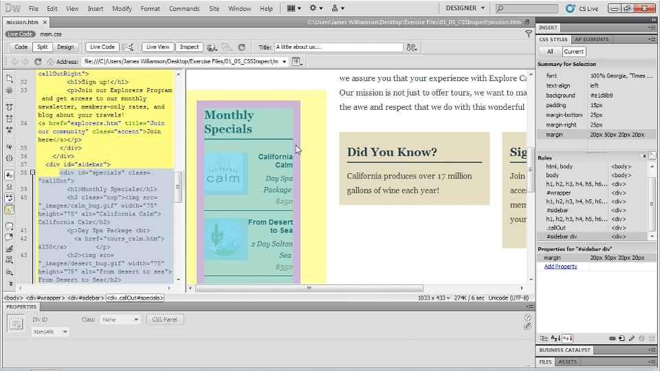 : Dreamweaver CS5 New Features