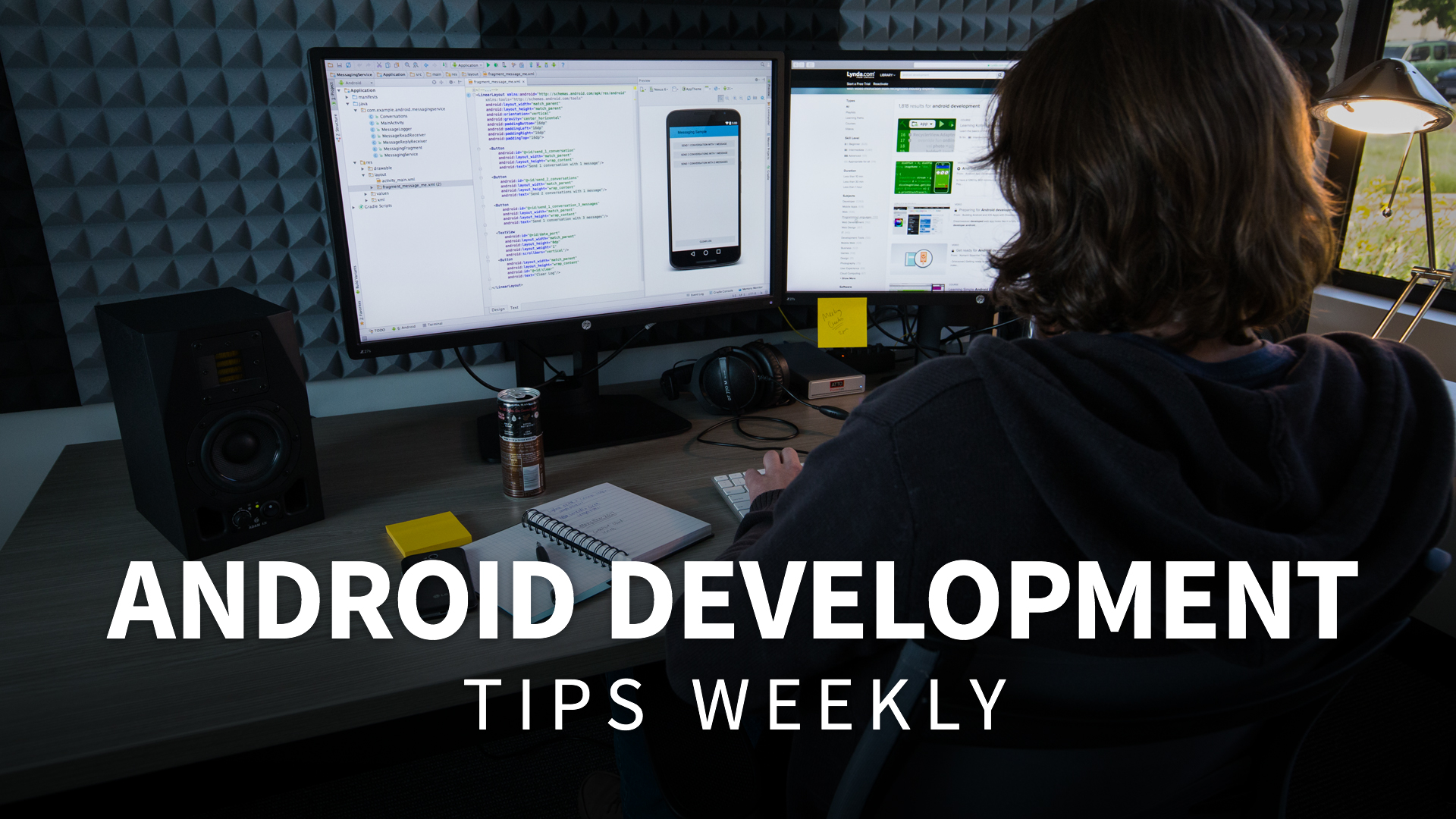 Developer online courses classes training tutorials on lynda android development tips weekly baditri Images