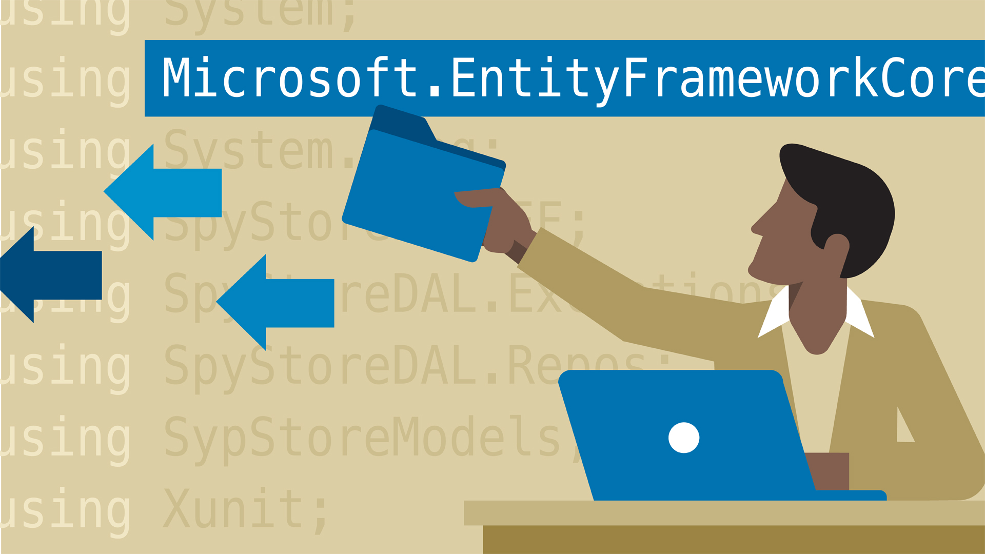 Add Entity Framework to projects