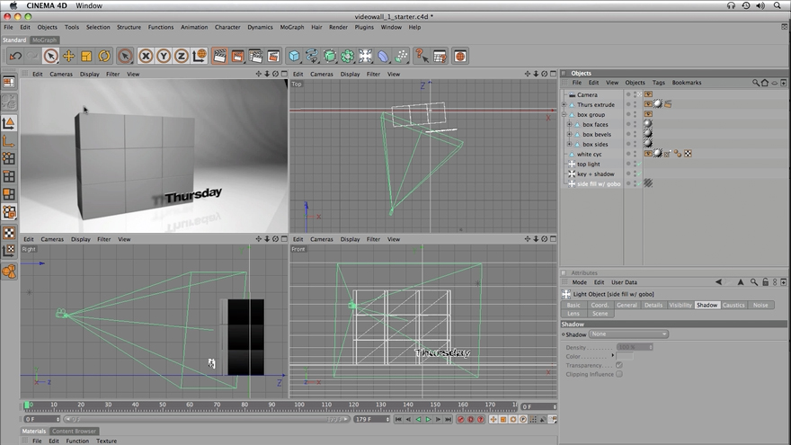 : CINEMA 4D and After Effects Integration