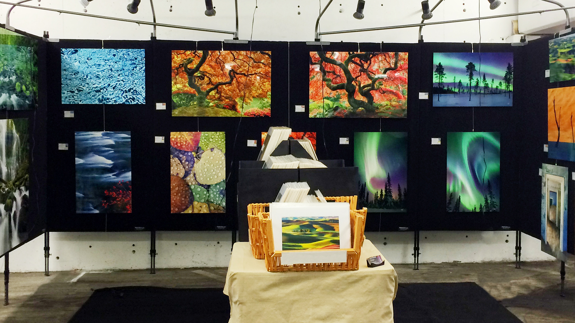 Exhibition of nature photographs