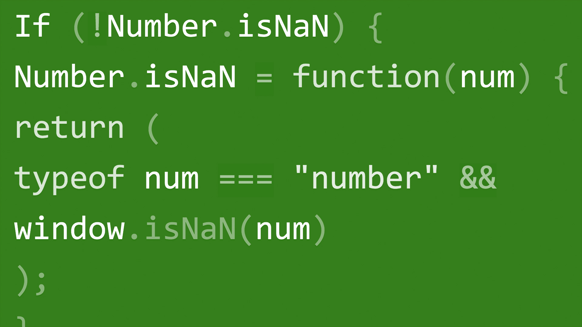 isnan function in javascript