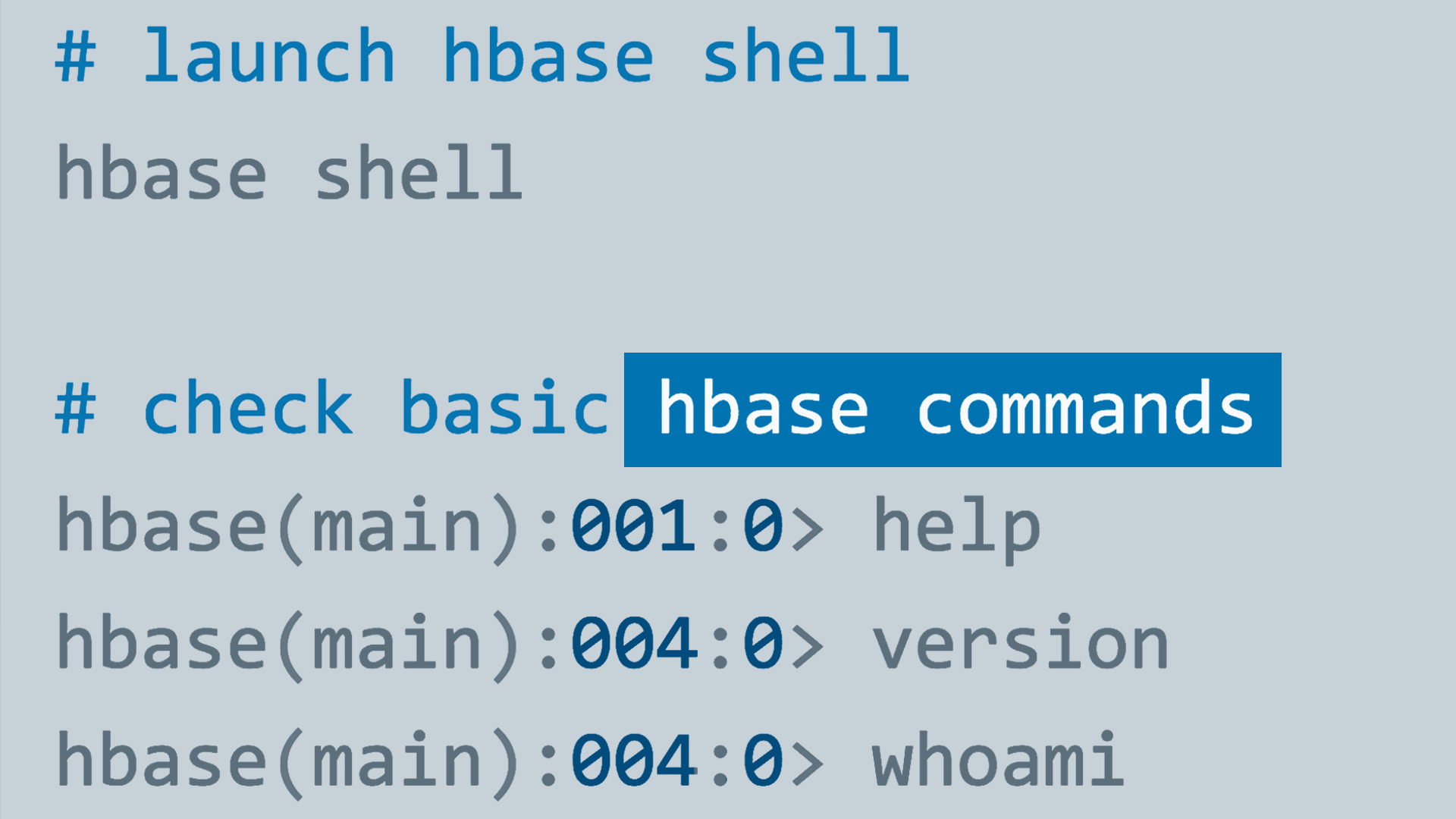 HBase Architecture Overview - Hbase architecture