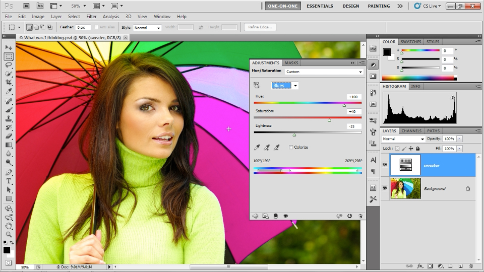 Welcome to Photoshop CS5 One-on-One: Photoshop CS5 One-on-One: Fundamentals