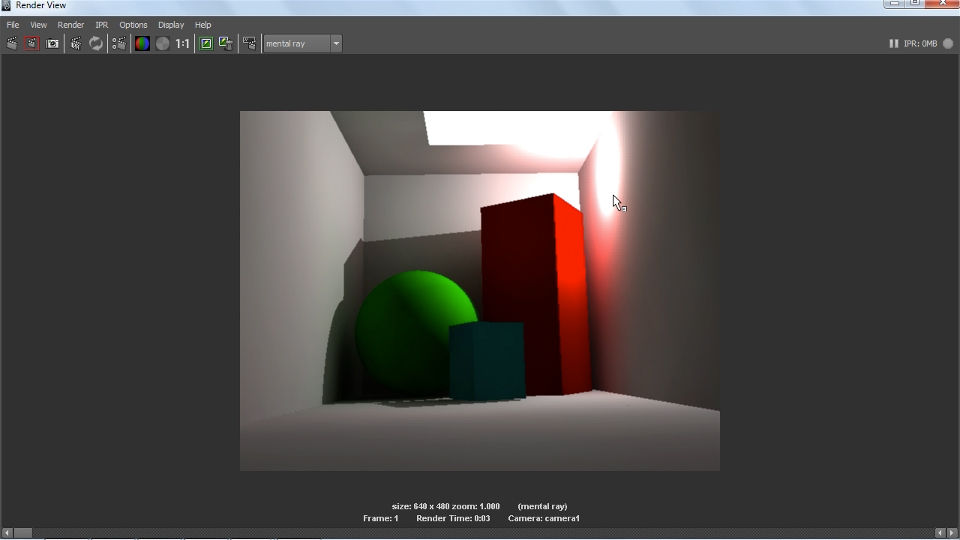 Welcome: Lighting and Rendering with mental ray in Maya