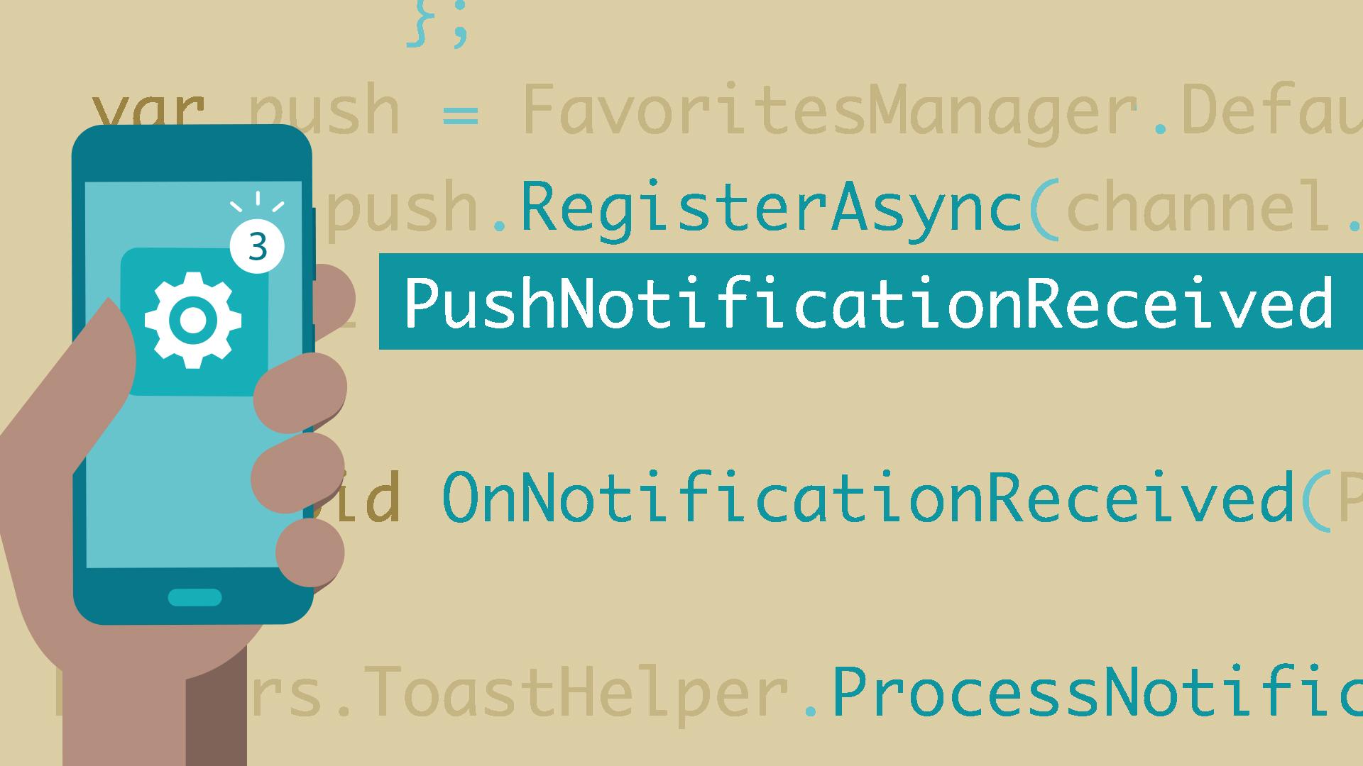 mastering xamarin forms development 7 push notifications