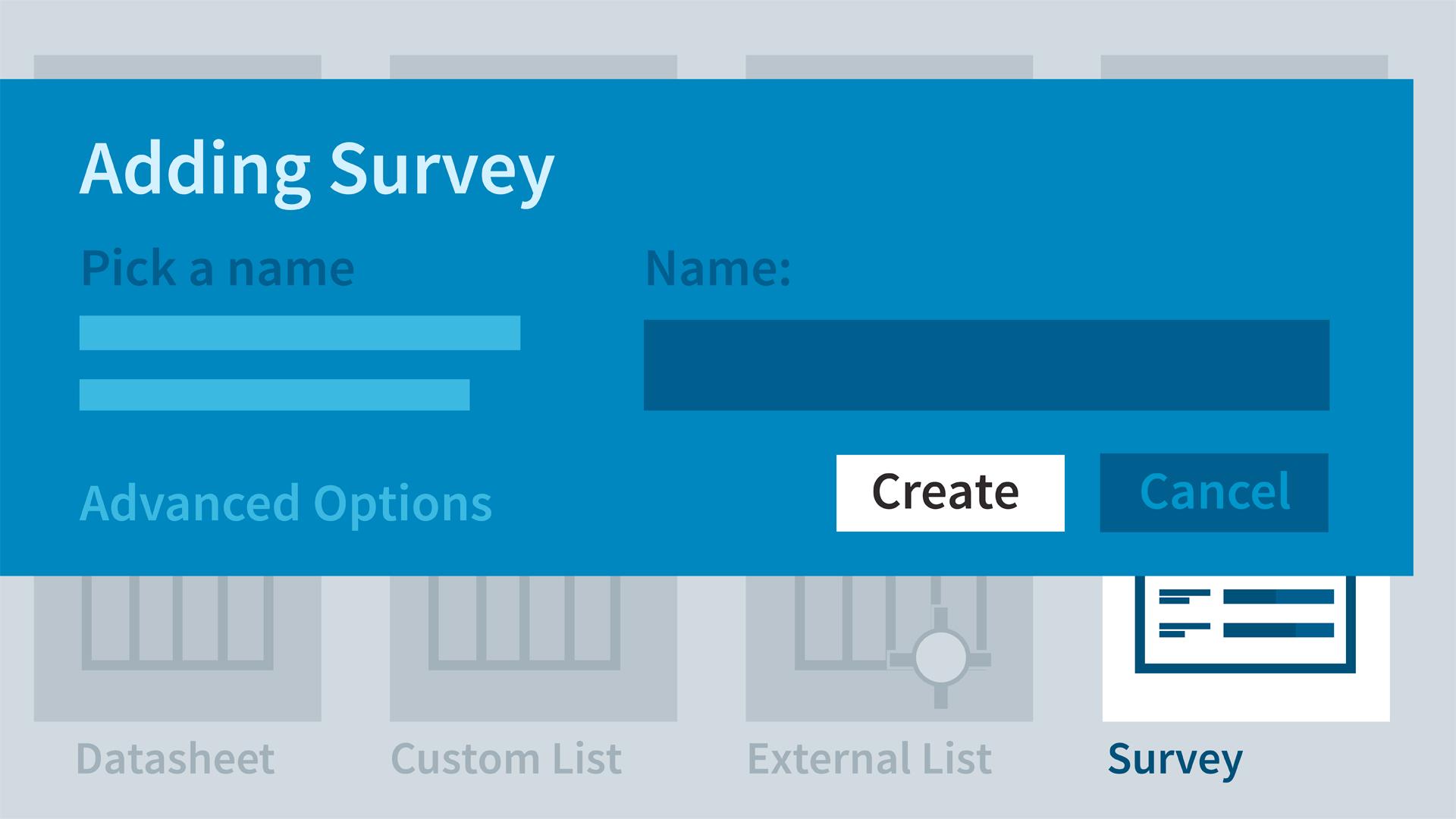 SharePoint for Enterprise: Create Web Surveys