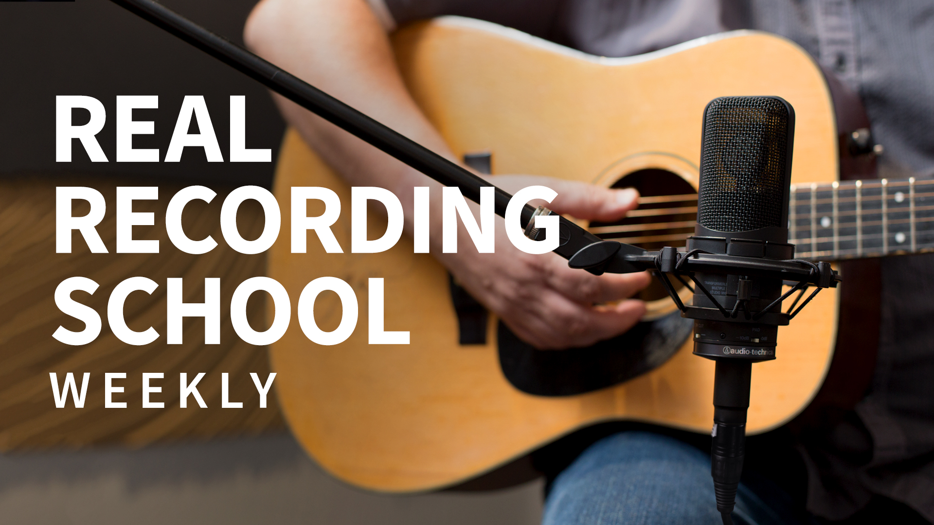Mixing with single handclaps: Real Recording School Weekly