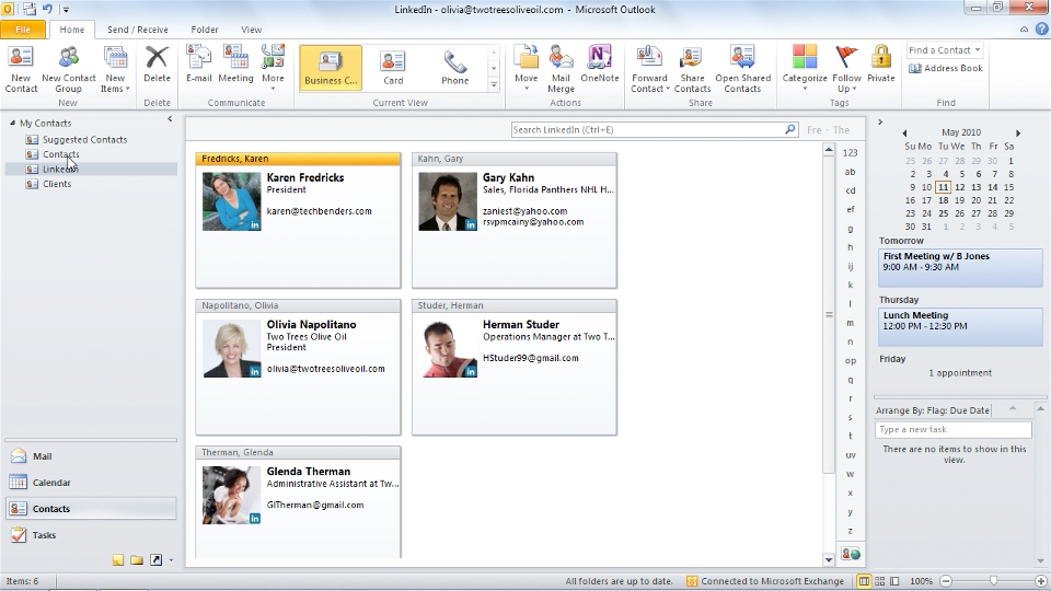Welcome: Outlook 2010 New Features