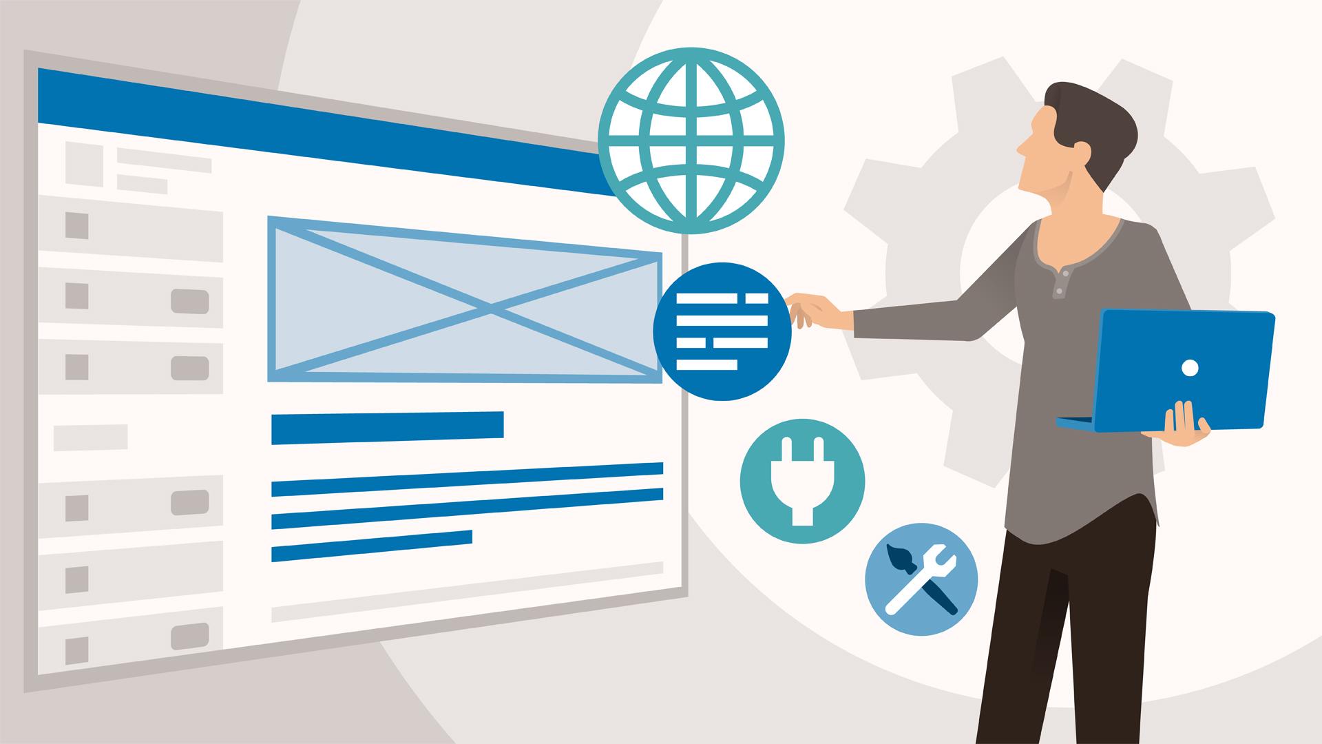 Build a site with WordPress.com: WordPress.com Essential Training