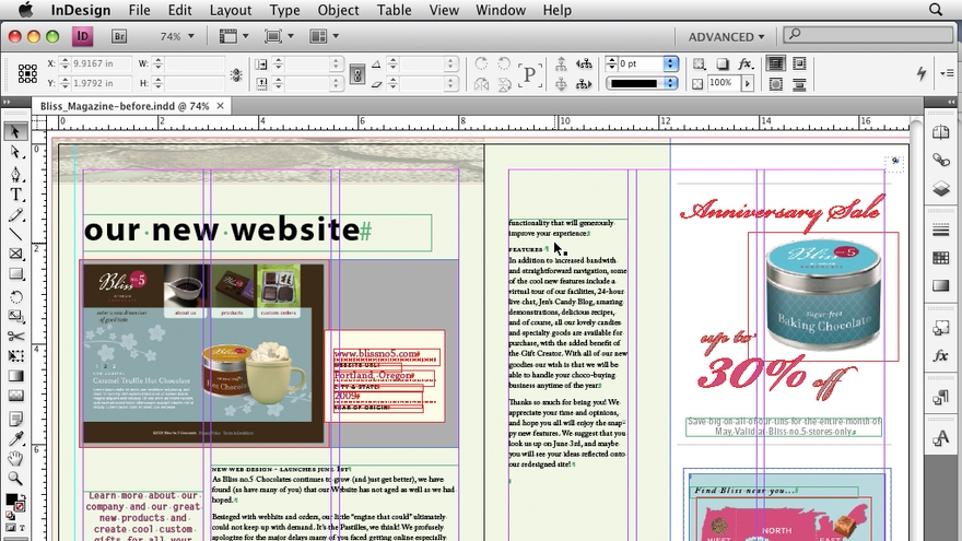 : InDesign CS4 New Features
