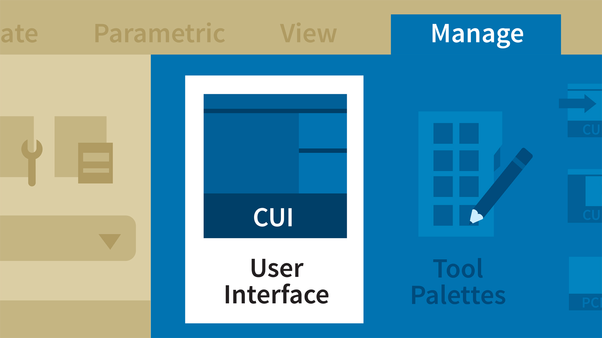 AutoCAD: Creating an Enterprise Custom User Interface