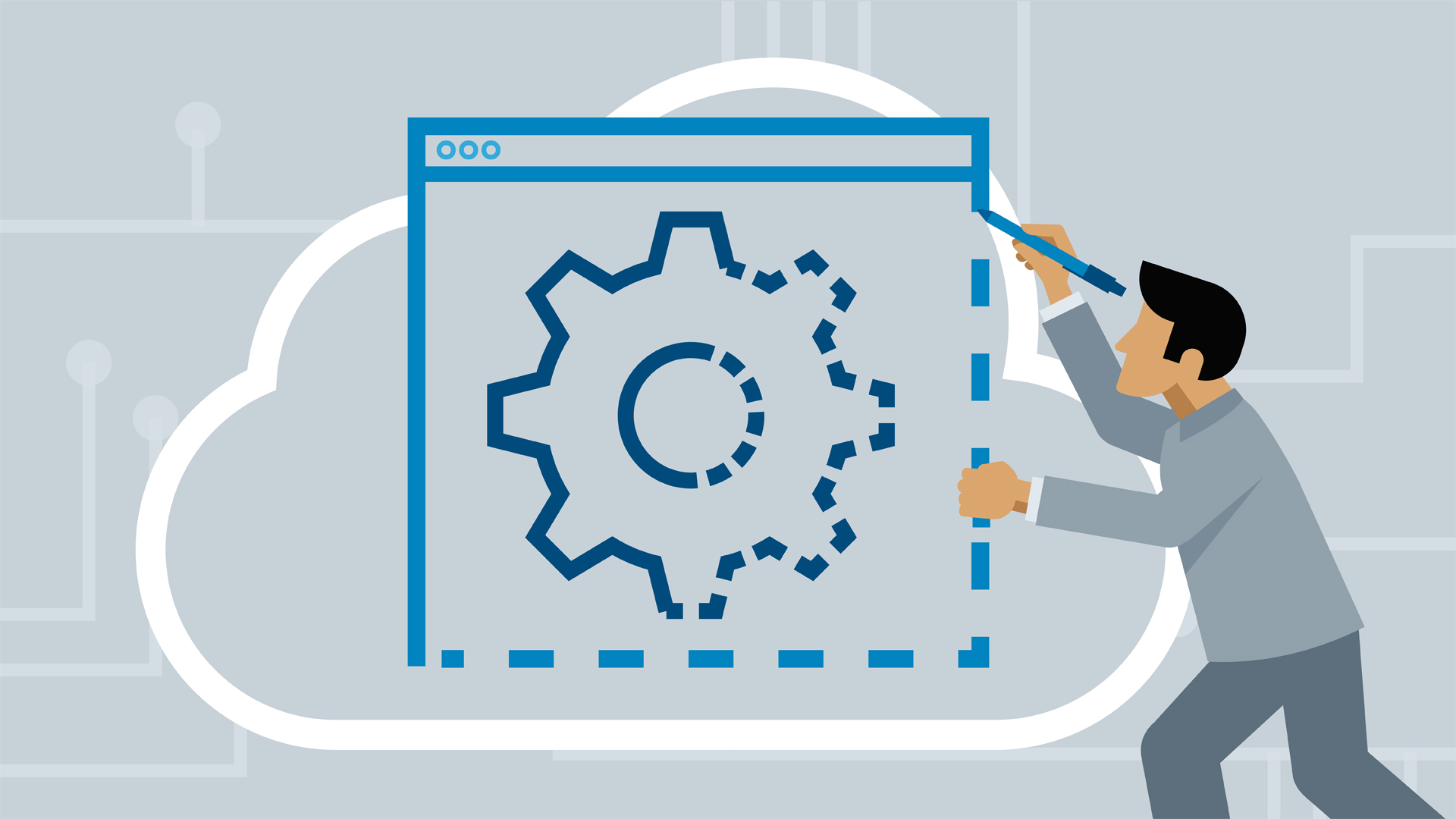 Build naïve Docker image for Go microservice