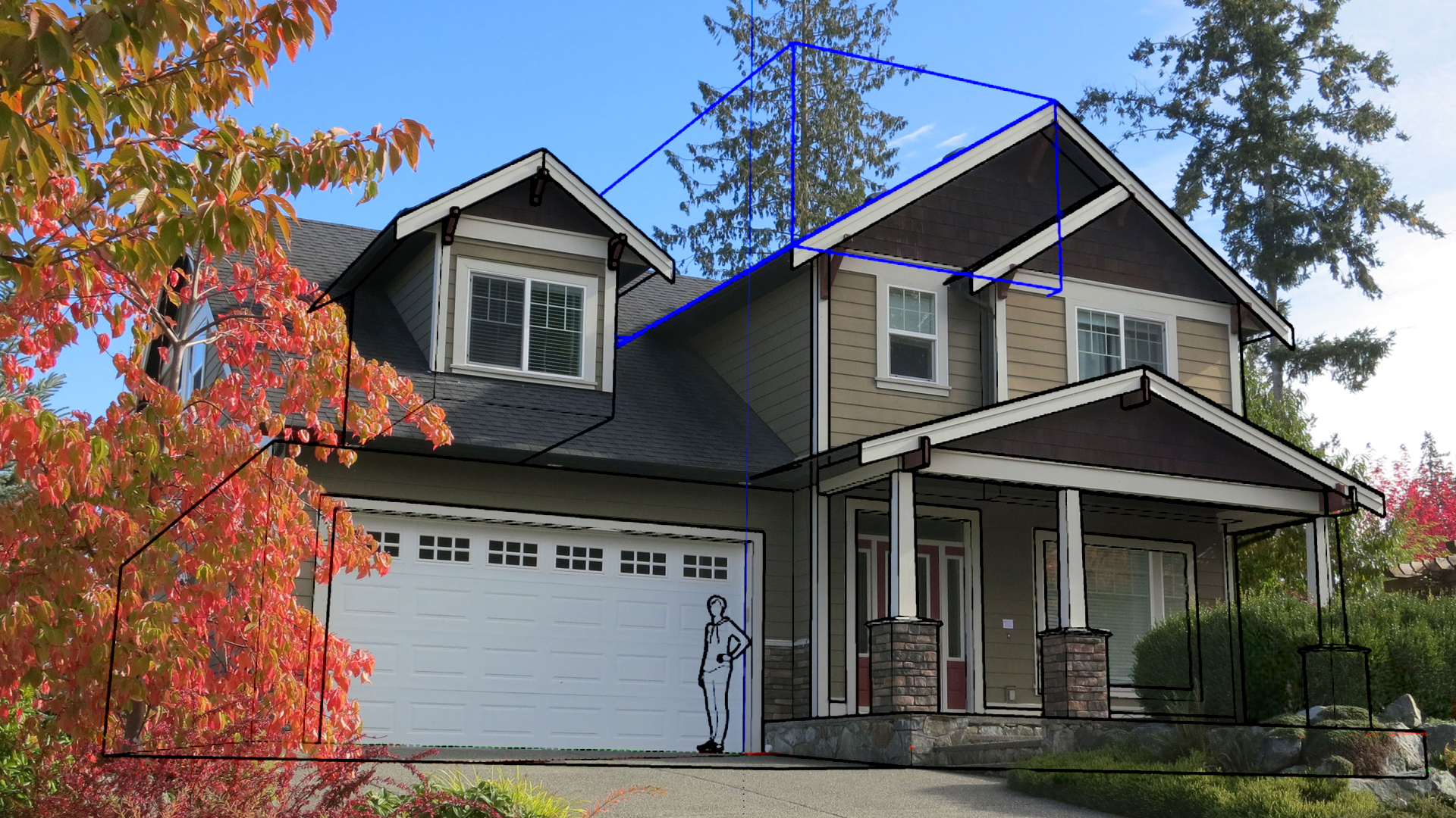 Sketchup Modeling Exteriors From Photos