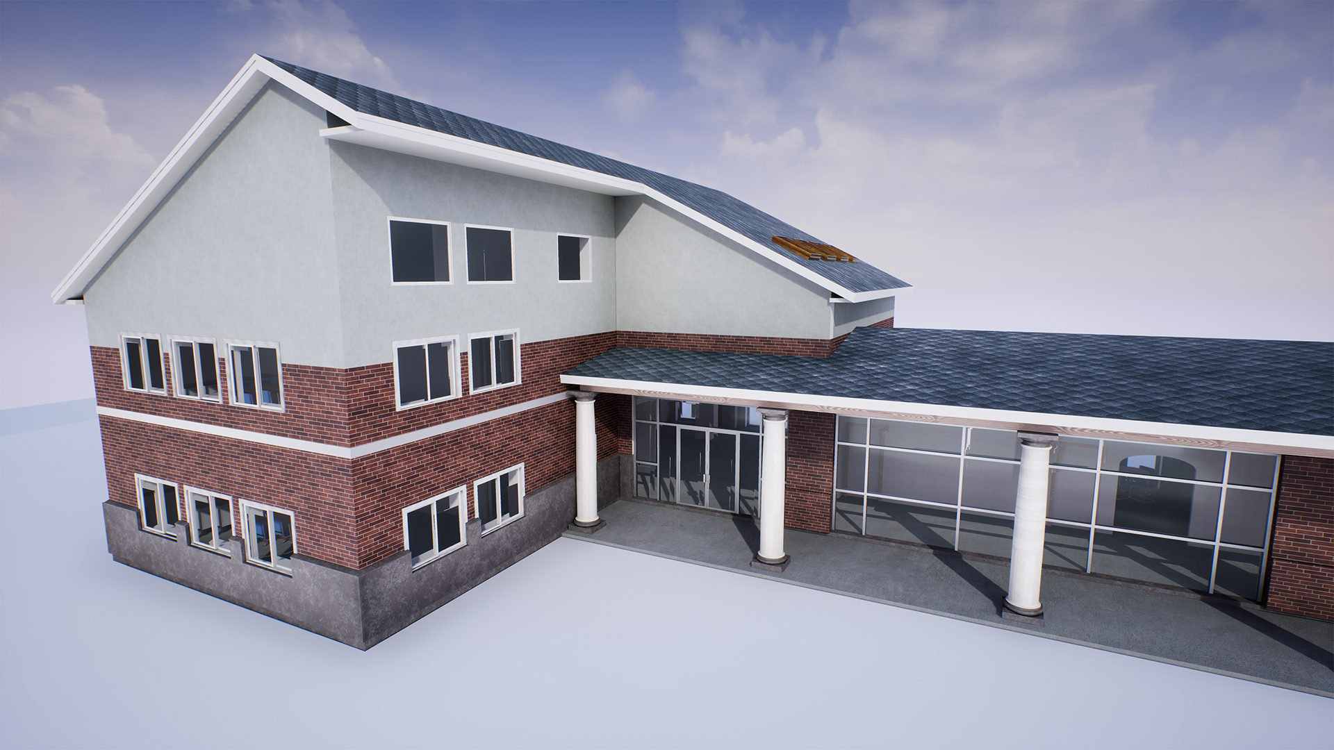 Revit FBX UE4 import