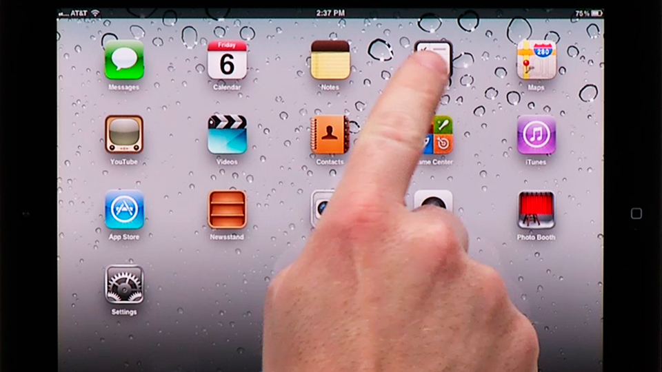 Welcome: iPad Tips and Tricks (2010)