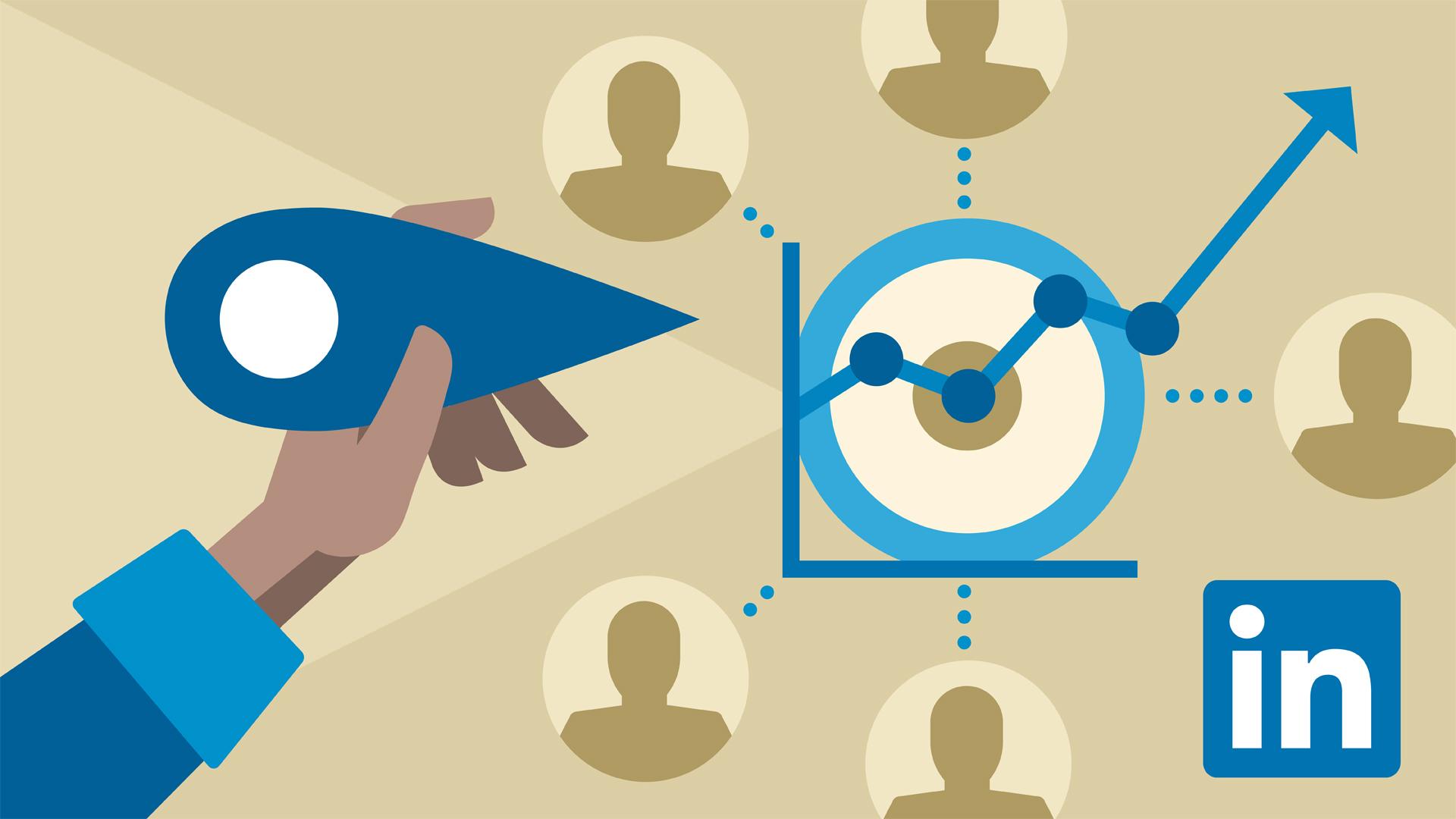 tiếp cận ứng viên trên linkedin bằng nhiều cách khác nhau