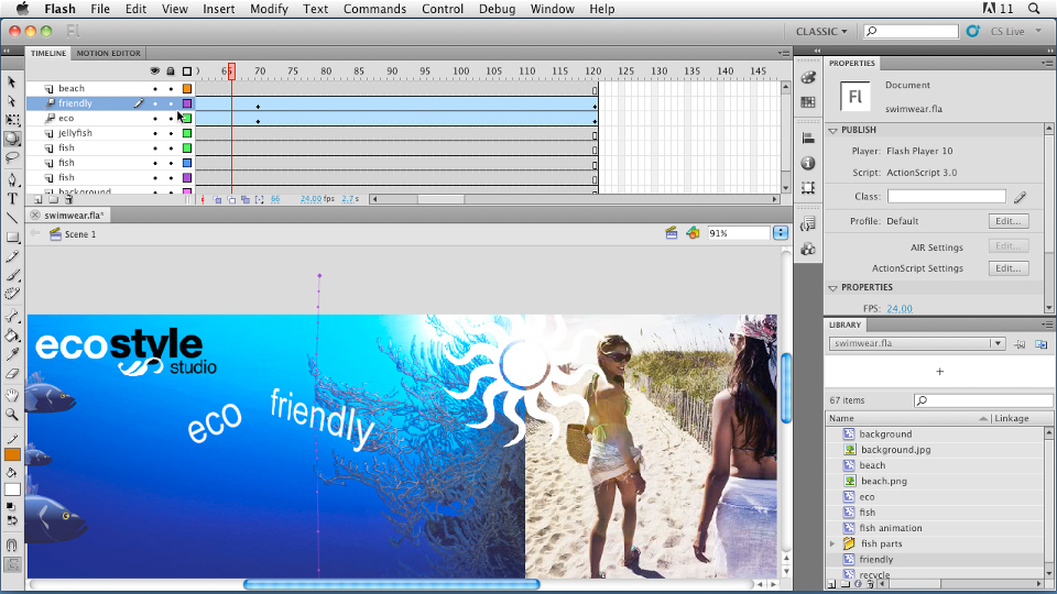 Welcome: Flash Professional CS5: Animation Projects